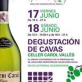 Cata gratuita de Cavas de Carol Vallès en Álava de la Cruz (17 y 18 de junio)