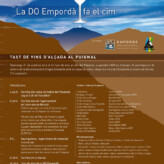 3ª Cata de vinos de la D.O.Empordà en la cima del Puigmal (29 de julio)