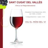 1ª Fira de Vins de Sant Cugat del Vallès (15 de diciembre)