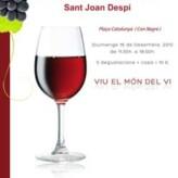 1ª Fira de Nadal de Vins i Caves de Sant Joan Despí (16 de diciembre)