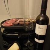 Cooperativa Falset-Marçà: Ètim Selection Syrah 2006 con Raclette