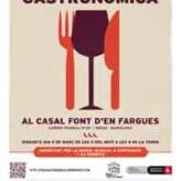I Feria Gastronómica Casal Font d'en Fargues (Barcelona, 9 de marzo)