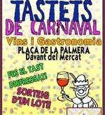 Catas de vinos en Barcelona por Carnaval (9 y 10 de febrero)