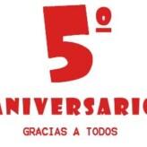 5º Aniversario de Nos Gusta el Vino