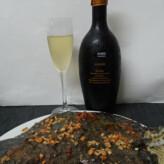 Sumarroca Núria Claverol Allier Brut Gran Reserva 2012 con Rodaballo a los Tres Vuelcos