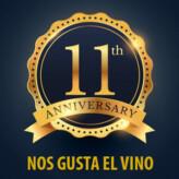 ¡11º Aniversario de Nos Gusta el Vino!