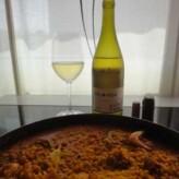 Bodegas Valonga: Valonga Chardonnay 2011 con paella marinera