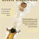 IV Muestra del Cava Valencià (Valencia, del 30 de noviembre al 2 de diciembre)