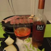 Bodegas Baigorri: Baigorri Rosado 2012 con Raclette