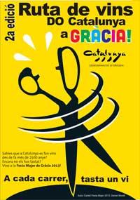 ruta vins do catalunya festa major de gracia