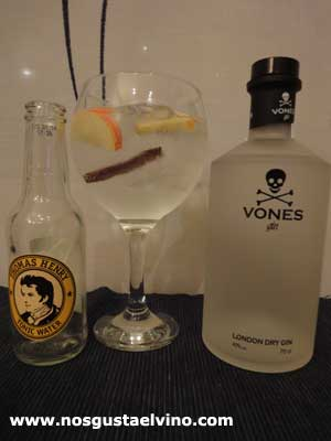 vones gin perfect serve