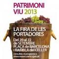 La Fira de les Portadores 2013 Sant Cugat del Valles