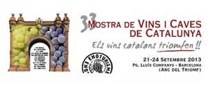 33 Mostra vins i caves de catalunya 2013