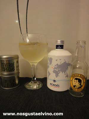 Nordes gin perfect serve