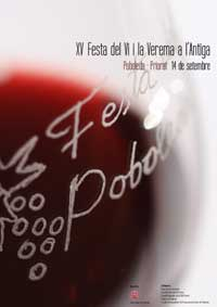 XV Festa del Vi i la Verema a l'Antiga de Poboleda 2013