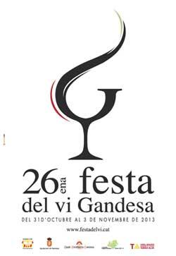 Festa del vi gandesa 2013
