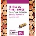 Fira de Vins i Caves de Sant Cugat Valles 2013