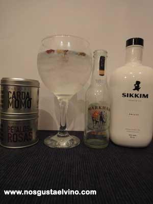 sikkim gin perfect serve