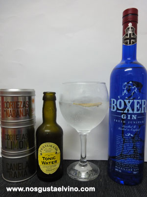 boxer gin perfect serve