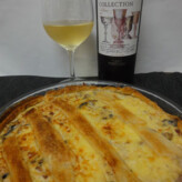 Perelada Collection Blanc 2013 Con Quiche Lorraine