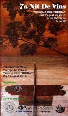 7a Nit de Vins de Torroja del Priorat-2014