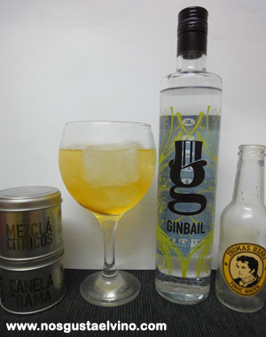 ginbail gin perfect serve