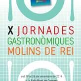 X Jornades Gastronòmiques de Molins de Rei (del 19 al 26 de septiembre de 2014)