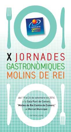 jornades gastronomiques de molins de rei 2014