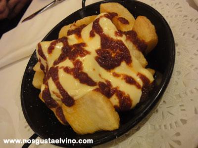 Restaurant cullera de boix boqueria patatas bravas