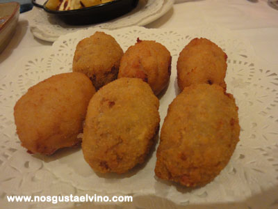 Restaurant cullera de boix boqueria croquetas