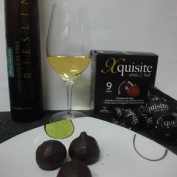 Gramona Vi de Glass Riesling 2011 con Bombones de Higos