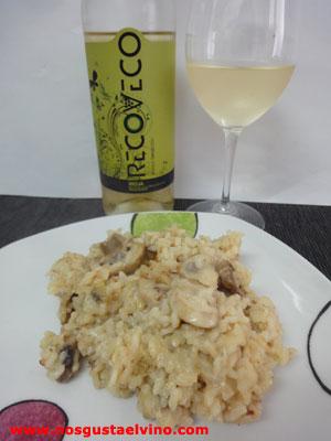 recoveco blanco 2013 con risotto