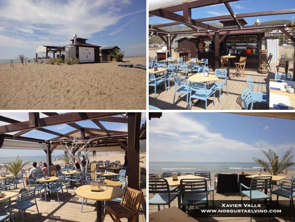 Latitud Norte Beach Restaurant Les Botigues de Sitges 1