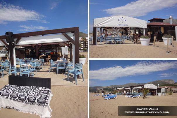 Latitud Norte Beach Restaurant Les Botigues de Sitges 2