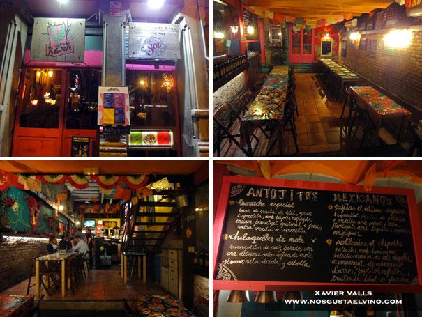 restaurante mejicano el ultimo agave Barcelona 1