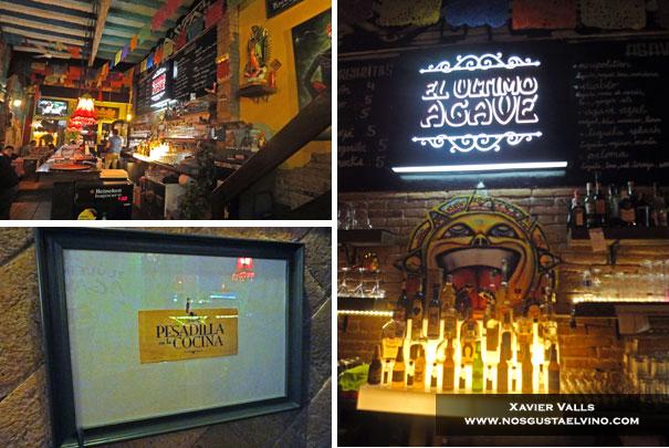 restaurante mejicano el ultimo agave Barcelona 2