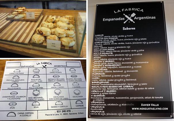 La Fábrica Empanadas Argentinas Barcelona 2