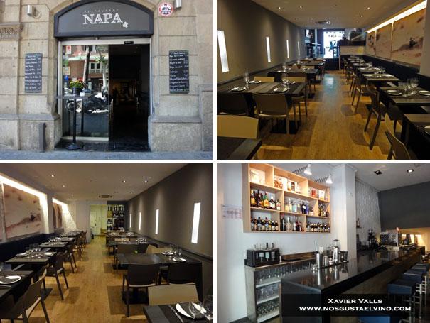 Napa Restaurant Barcelona 1
