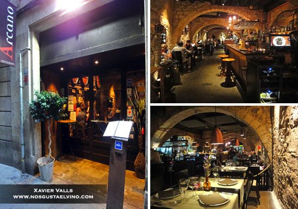 Restaurante Arcano Barcelona 1