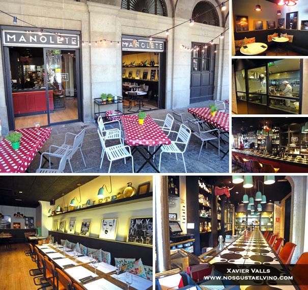 Restaurante Manolete Barcelona 1