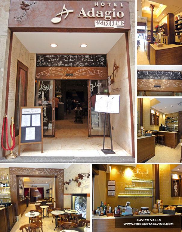 Adagio Tapas adagio hotel Barcelona 1