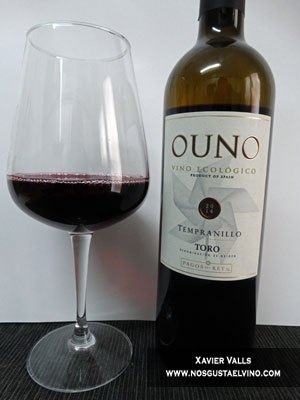 ouno vino ecologico tempranillo 2014