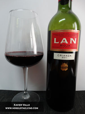 LAN Crianza 2011