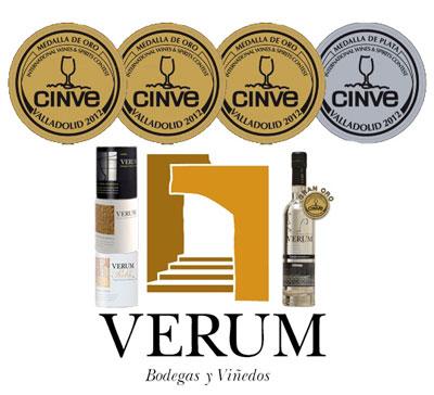 Premios vinos bodegas verum