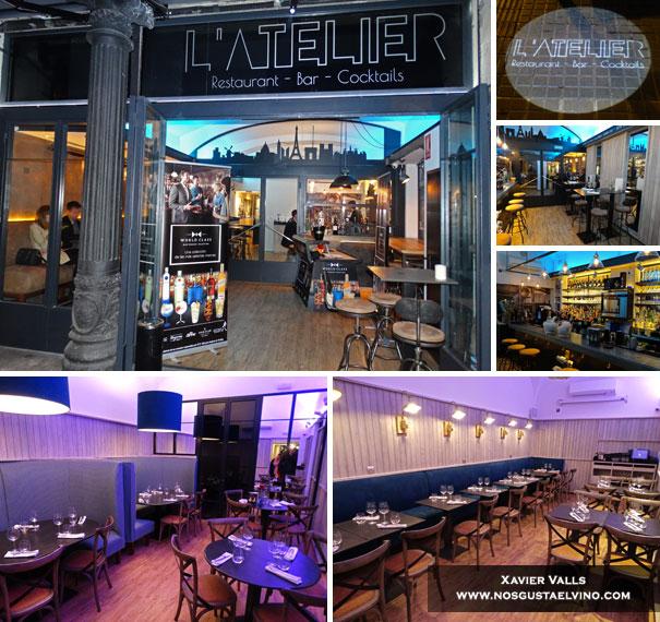Restaurant L'Atelier Barcelona 1