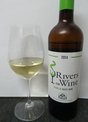 rivers of wine verdejo 2014 do rueda