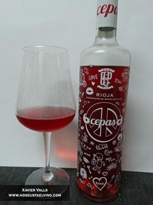 6cepas6 rosado 2014 de bodegas perica de la D.O. Ca. Rioja