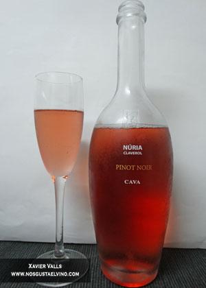 cava rosat nuria claverol pinot noir de bodegues sumarroca