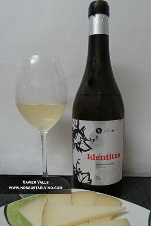 Identitas Subirat Parent 2015 de cellers blanch de la D.O. Tarragona