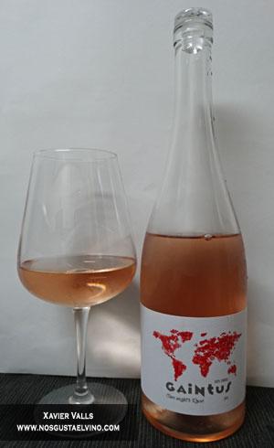 Gaintus One Night's Rosé 2015 de heretat mont rubí de la D.O. Penedès
